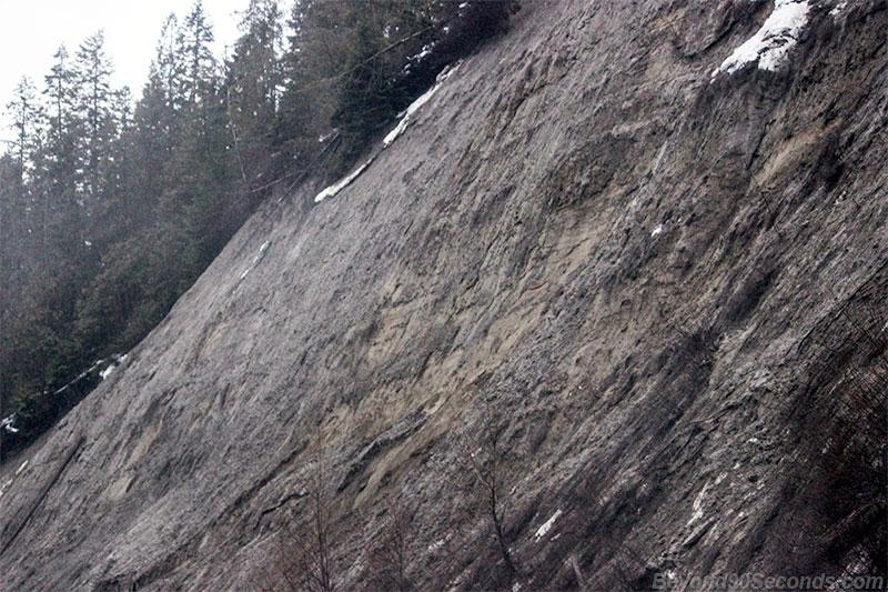 Metaline slide area