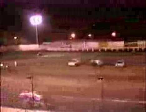 USAC/CRA 410 Sprint car action!