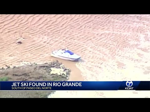 BCSO searching for person possibly thrown off jet ski in the Rio Grande