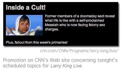 Larry King Live promo