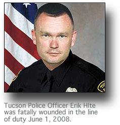 Slain Tucson Police Officer Erik Hite