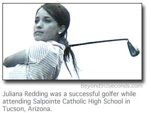 Juliana Redding high school golf photo