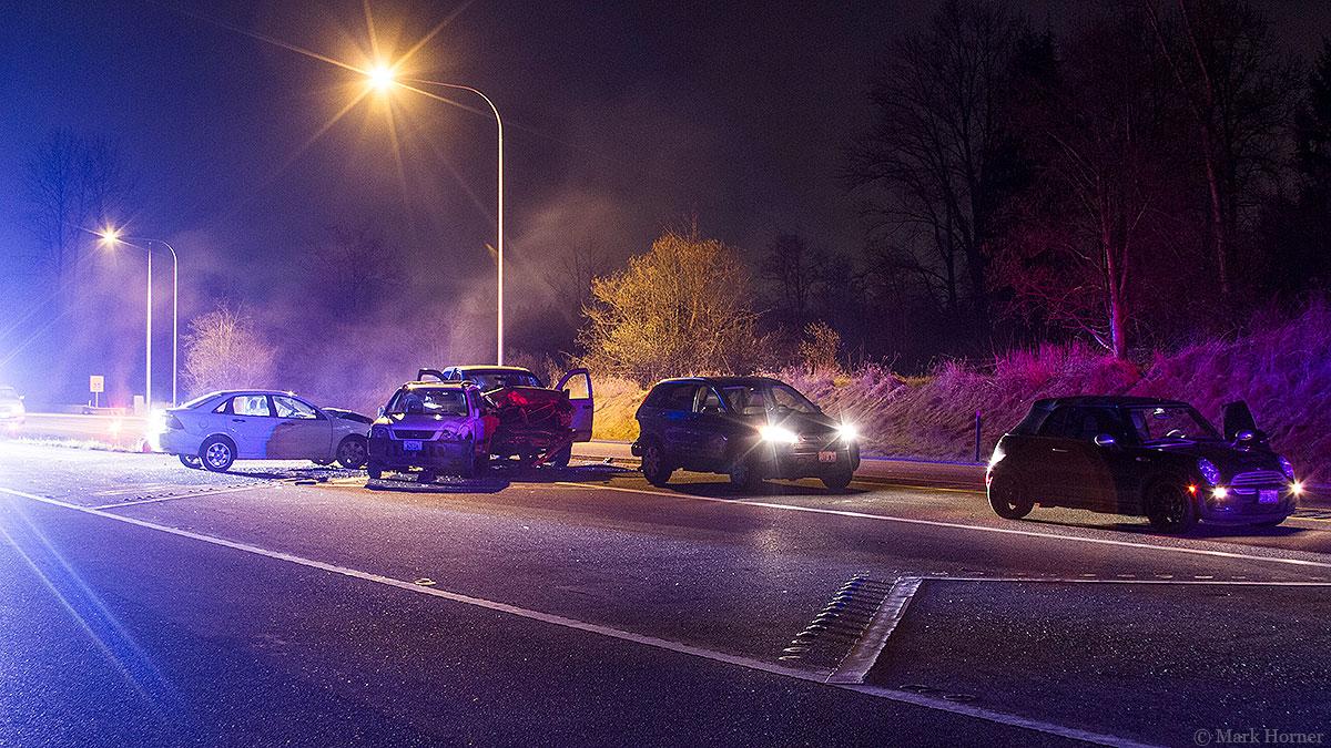 UPDATE: Good Samaritan seriously injured while helping crash victim on SR 522