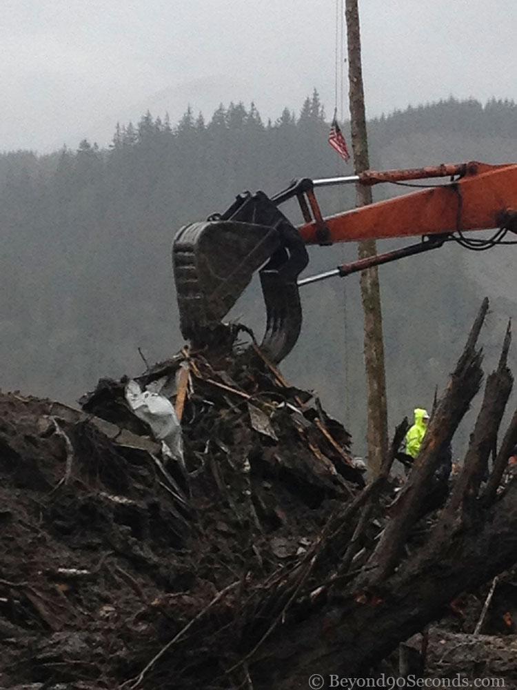 Oso mudslide. Friday, March 28, 2014.