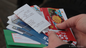Beyond90Seconds.com readers donated $360 in Shell gas cards for fueling privately owned machinery at the Oso mudslide. The fundraiser was announced Thursday morning. The gas cards were donated within 3 1/2 hours that same day, then delivered to Darrington early that evening.